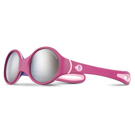 Julbo Baby 2-4Y Loop Spectron 4 Sunglasses Baby 2-4Y Fuchsia/Purple/Pink-Gray Flash Silver